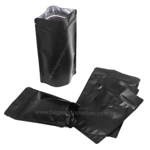 Stand Up Pouch with Zipper & Valve for Coffee Packaging